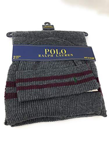 Amazon.com  Polo Ralph Lauren Men s Scarf   Hat Set 21a4159943eb5