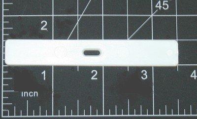 - 10 QTY:VERTICAL VANE HANGER :Slat Holder Insert for Fabric Vertical Blind Repair
