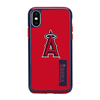 Forever Collectibles iPhone X Dual Hybrid Impact Licensed Case - MLB Los Angeles Angels