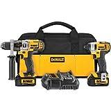 Dewalt DCK290L2R 20-volt MAX Li-Ion 3.0 Ah Hammer Drill and Impact Driver Combo Kit - Factory Serviced by DEWALT