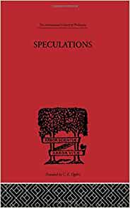 speculations essays on humanism and the philosophy of art Speculations: essays on humanism and the philosophy of art: volume 51 (international library of philosophy) - kindle edition by herbert read download it once and.