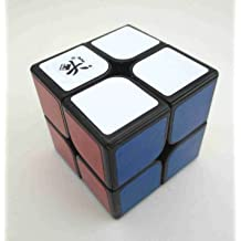 Dayan 2x2x2 Zhanchi Brain Teaser Speed Cube Puzzle Black 46mm