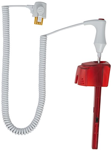 Welch Allyn 02892-000 Rectal Temperature Probe and Well Kit for SureTemp Plus 690 and 692 Electronic Thermometers, 4' Cord, Red (Rectal Suretemp Probe)