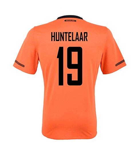 伝染性宿観光に行くNIKE HUNTELAAR #19 Holland Home Jersey YOUTH./サッカーユニフォーム オランダ ホーム用 背番号19 フンテラール ジュニア向け