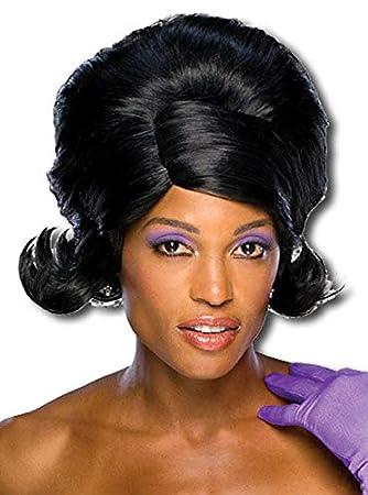 Dreamgirls Wig Black 60s Style (peluca)