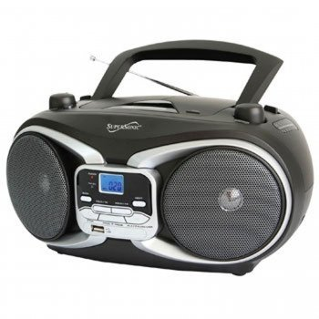 Supersonic SC504BLK Portable Audio System by Supersonic