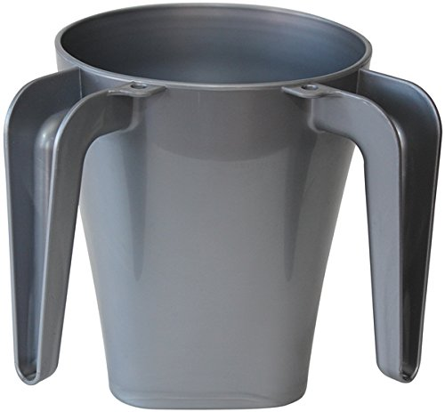 Majestic Giftware WCP-GY Plastic Wash Cup, 5.5-Inch, Grey by Majestic Giftware Inc.