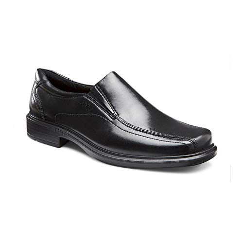 (ECCO Men's Helsinki Slip-On,Black,45 EU (US Men's 11-11.5 M))