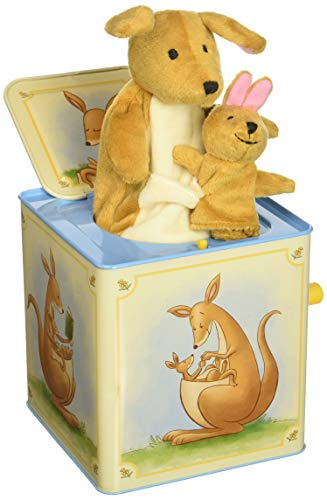 - Schylling Kangaroo Jack in The Box Musical Wind up Toy