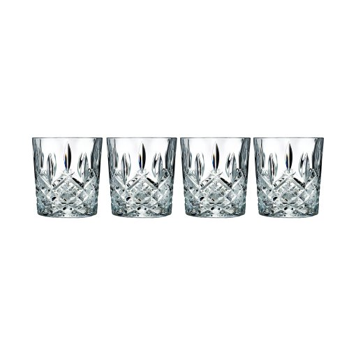 Marquis by Waterford Markham Double Old Fashioned Glasses, Set of (Waterford Crystal Old Fashioned Glass)