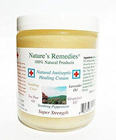100% Natural Antiseptic Healing Cream: Dr  Recommended, 5X Faster Healing,  Wounds, Infected