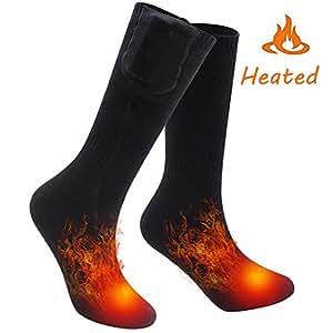BOYKO Eléctrica Recargable Caliente Calcetines Calcetines para los pies fríos crónicos (Eléctrica Calcetines)