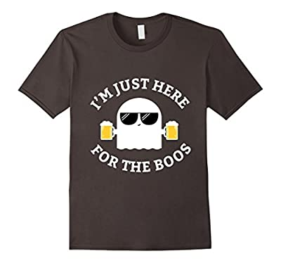 I'm Just Here For The Boos Shirt Funny Halloween Beer Tee