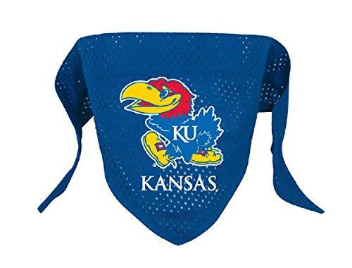 NCAA Kansas Jayhawks Pet Bandana, Team Color, Small