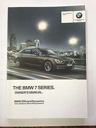 7 Series Owners Manual - 6
