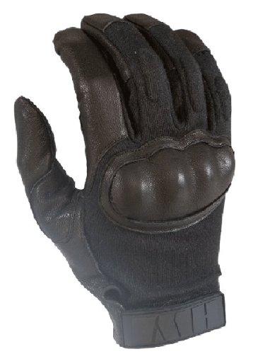HWI Gear Hard Knuckle Tactical Glove, X-Small, Black