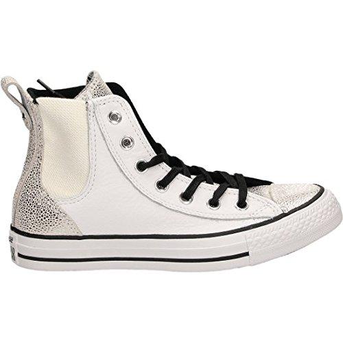 Converse All Star Hi White Scarpe Sportive Donna