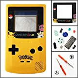 Full Housing Shell Case Cover Pack with Screwdriver Buttons for Nintendo Game boy Color GBC Repair
