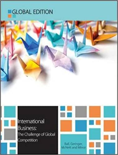 international business the challenge of global competition uk  international business the challenge of global competition uk higher education business management 13th uk ed edition