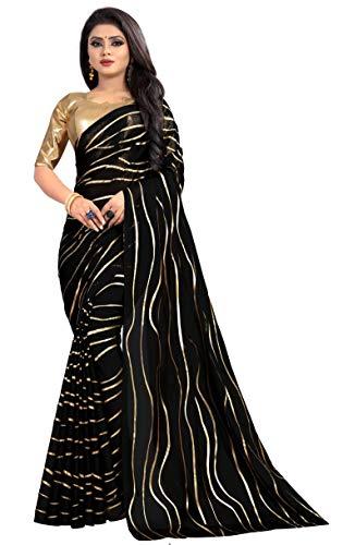 (Hiral Designer Rangoli Heavy Georgette Saree with blouse piece)