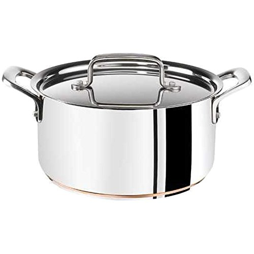 Tefal Jamie Oliver Professional Stainless Steel Saucepan Induction/E92542 Copper Bottom 16 cm 1.5 L