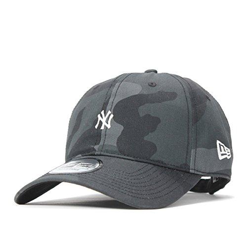 (ニューエラ) NEW ERA キャップ サイズ調整 9THIRTY MLB ニューヨークヤンキース ウッドランドカモミッドナイト カモフラ 迷彩柄 FREE (サイズ調整可能)