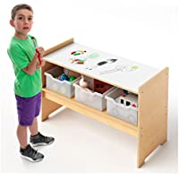 Whitney Brothers Play Table W/Write and Wipe Top Childrens Desks