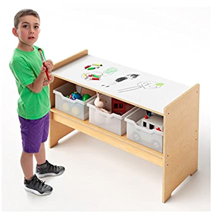 Charmant Whitney Brothers Play Table W/Write And Wipe Top Childrens Desks
