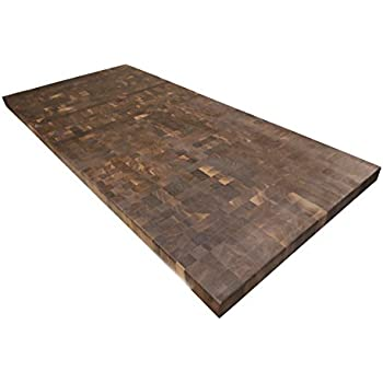 Armani Fine Woodworking End Grain Walnut Butcher Block Countertop