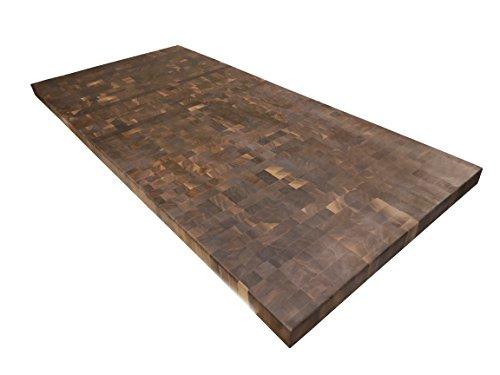Armani Fine Woodworking End Grain Walnut Butcher Block Countertop -