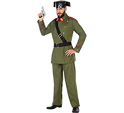 Atosa-54630 Disfraz Guardia Civil, Color Verde, XL (54630)