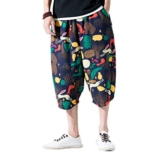 Harem Aladin Baggy Aladdin Unisex Con Hombres Sarouel Casuales Bloomers Elásticos Super Pantalones Elástica Gelb EX5qSqxw