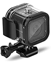 Nechkitter Waterproof Housing Case for GoPro Hero 5 Session Hero 4 Session Hero Session, High Transmission 60m Dive Protective Housing Case