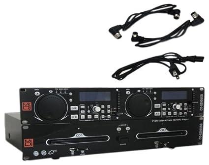 Amazon.com: MR. DJ cd-8200usb MP3/USB/tarjeta SD Compatible ...