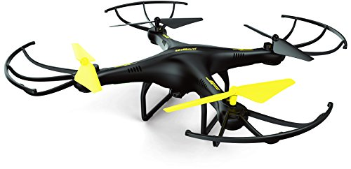U45-Drone-with-HD-Camera-Altitude-Hold-and-One-Button-Take-Off-and-Landing-RC-Quadcopter-Includes-BONUS-4GB-SanDisk-Micro-SD-Card-and-Extra-Battery-Exclusive-Black-Yellow-Color