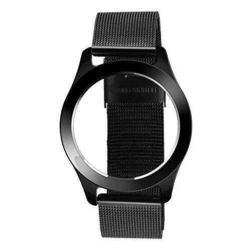 YOURSPORT Metal Band for Misfit Shine 2, Black