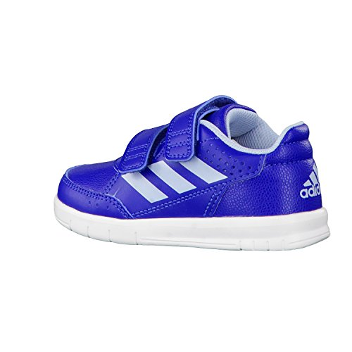 adidas - Zapatillas de Material Sintético para niño azul/blanco