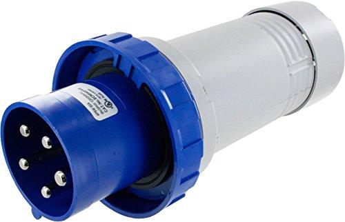 560P9W Pin & Sleeve Device Ip67 Male Plug 60A 3Phase 120/208 4P 5W Watertight