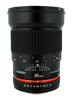 Rokinon 35mm f/1.4 Lens for Canon Cameras (B004X1SG12) | Amazon price tracker / tracking, Amazon price history charts, Amazon price watches, Amazon price drop alerts