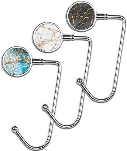 Cheliz Purse Hook Set long3 Marble product image