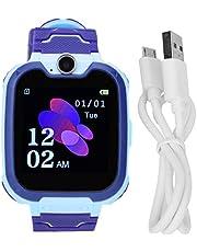 Kid Phone Watch Noodoproep Multifunctionele wekkerhorloge Smart Kid Watch(Blauw)