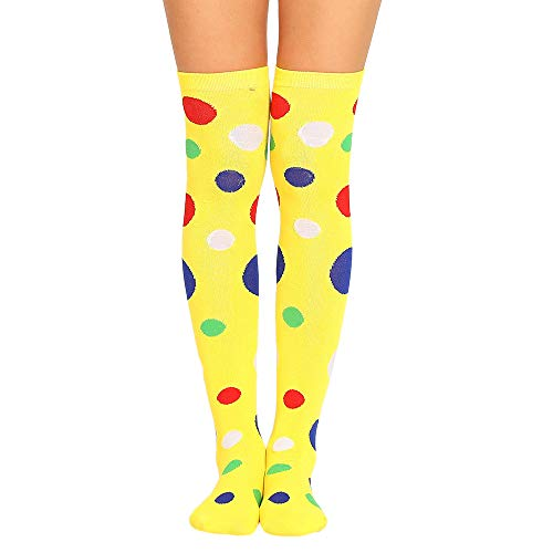 Big promotion TOTOD Women Girl Winter Over Knee Leg Warmer Soft Cotton Socks Leggin (One size, Z- Yellow)