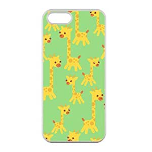 Welcome!Iphone 5/5S Cases-Brand New Design Cute Giraffe Printed High Quality TPU For Iphone 5/5S 4 Inch -03