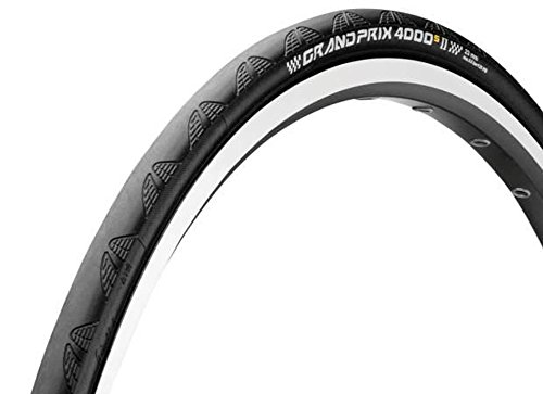 Continental Grand Prix 4000s II Cycling Tire, Black, 700 x 25C