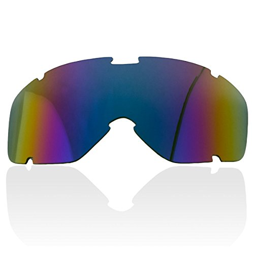 Outlaw 23 Red Rainbow Color Replacement Lens for Outlaw 50 Nemesis Mask - One ()