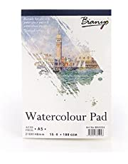 Sketchbook watercolor paper watercolor paper backing paper sketch painting paint (A5)