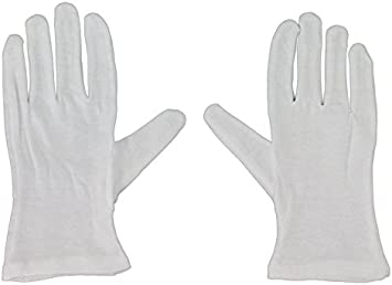 Fuluzor - Guantes blancos multiusos de algodón talla XL: Amazon.es: Bricolaje y herramientas