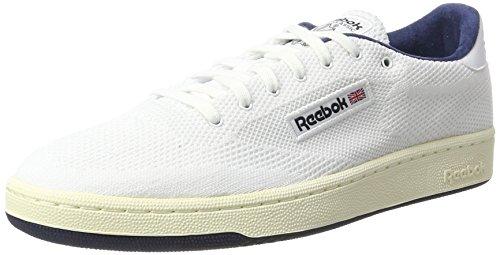 Reebok Club C 85 OG ULTK, Scarpe da Ginnastica Uomo Bianco (White/Classic White/Collegiate Navy)