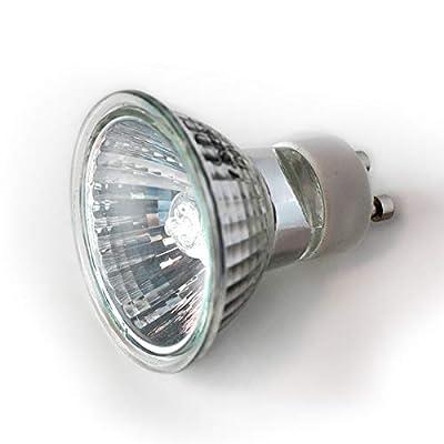 eTopLighting [10-Pack] GU10 Base 12 Volt 20 Watt Halogen Light Bulb, APLIQ287