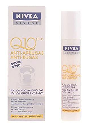 Nivea Q10 Plus Roll-On Ojos Anti-Bolsas Mujer, 10 ml